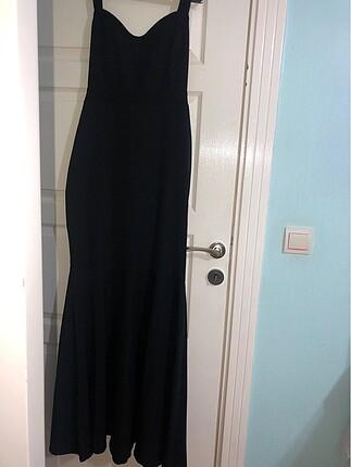 Uzun balık model elbise