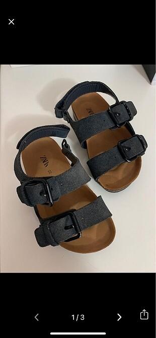 Zara sandalet 22 numara