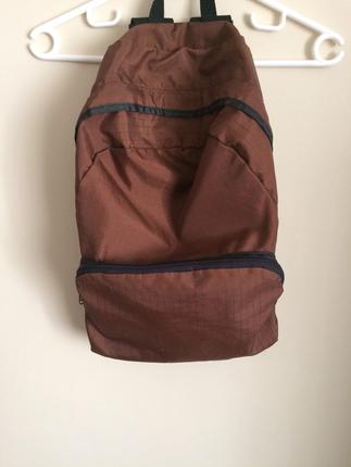 Kahverengi sırt çantası