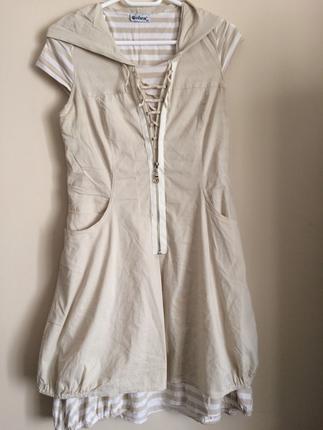 Vintage Love Sportif günlük elbise