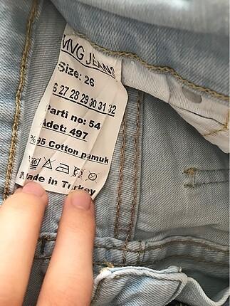 26 Beden Kot pantolon