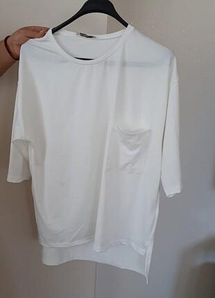 Zara beyaz bluz