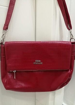Segio Giorgianni Kadın omuz çantası