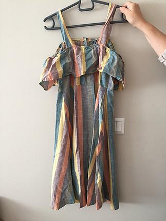Çok renkli elbise