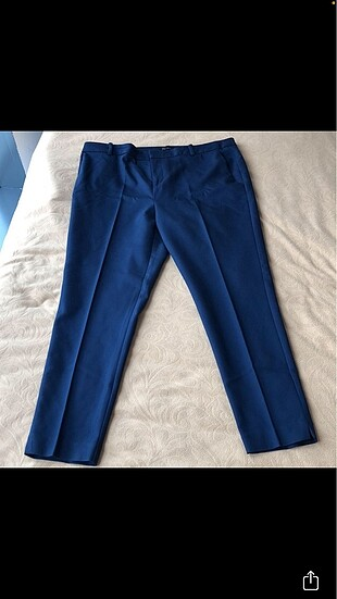 44 Beden lacivert Renk Koyu lacivert likralı kumaş pantolon