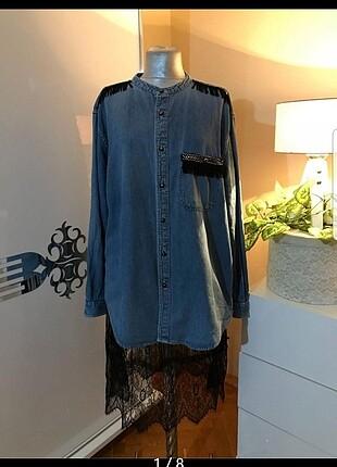 Yumuşacık kot gömlek