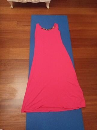 Uzun penye elbise