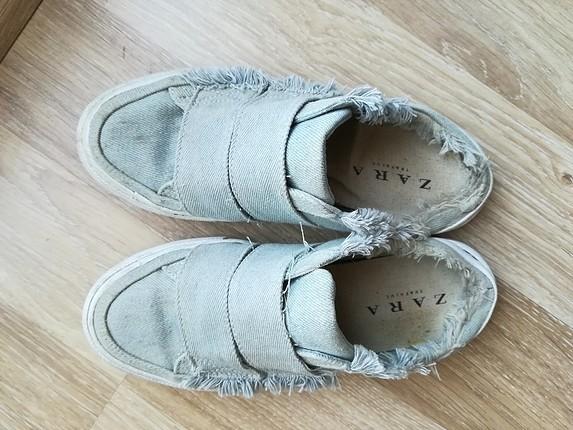 zara trafaluc yarım ayakkabı terlik