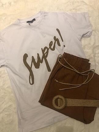 Super yaZılı tshirt