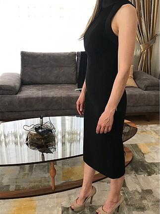 Que Sırt dekolteli elbise