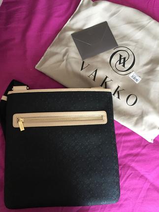 df64c75907201 universal Beden siyah Renk Çok ucuz vakko monogram çapraz askılı siyah  postacı çanta yeni s