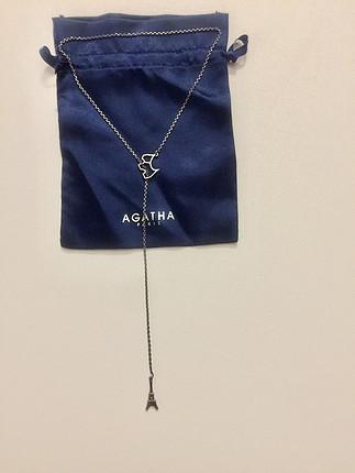 Agatha Paris Gümüş Y Kolye