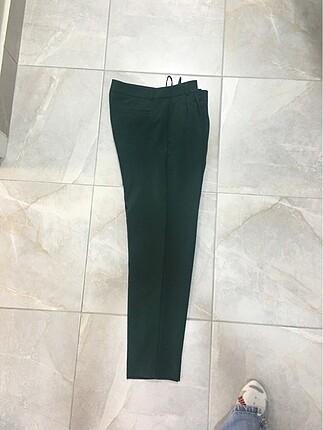 34 Beden yeşil Renk Pantolon