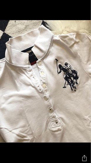 xs Beden beyaz Renk US polo tshirt