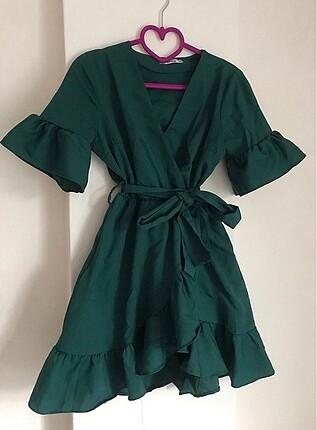 Zara model elbise