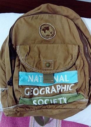 taba renkli sırt çantası