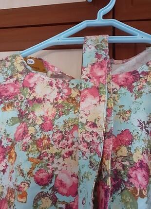 LC Waikiki Kot çiçekli elbise
