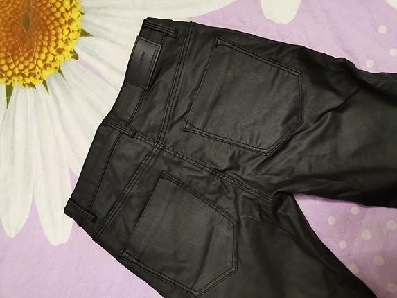 s Beden siyah Renk STRADİVARİUS Mumlu skinny