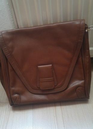vintage deri çanta