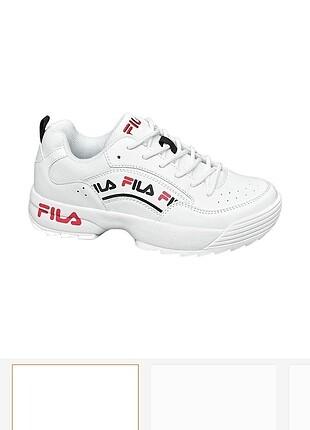 Fila Orijinal Beyaz Spor Ayakkabı