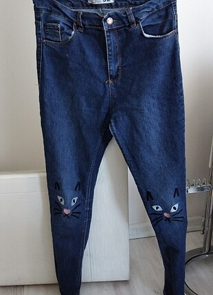 Dizi kedili pantolon