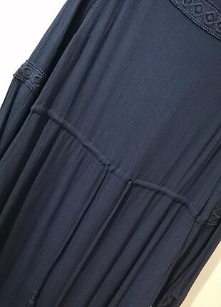 40 Beden lacivert Renk Lavicert elbise