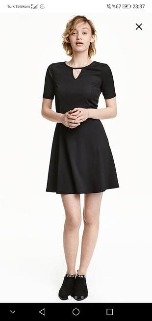 Yenı siyah elbise