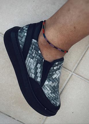 37 Beden Siyah Sneaker