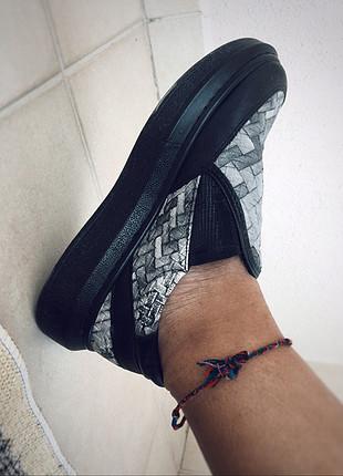 37 Beden çeşitli Renk Siyah Sneaker