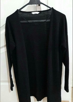 Siyah mevsimlik ceket