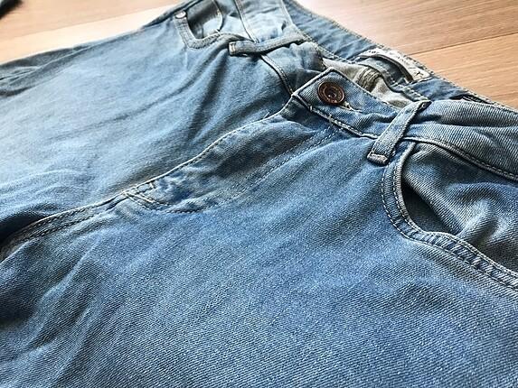 KOTON Mavi Bay Kot Pantolon