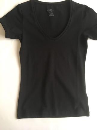 xs Beden siyah Renk mavi tişört