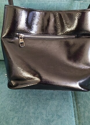 Beden Siyah şık orta boy kol çantası