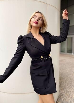 Astarlı Ceket Elbise S M L XL 2xl 285.90 TL kargo ücreti dahild