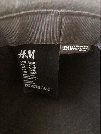 Beden siyah Renk h&m şapka