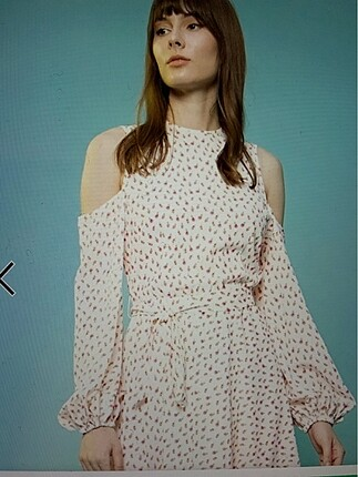 Selma çilek elbise