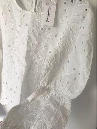 s Beden beyaz Renk Stradivarius gömlek