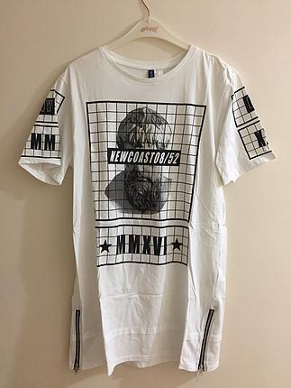 grafik baskılı tshirt