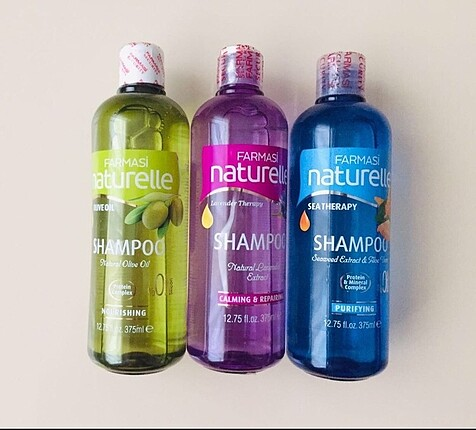 farmasi naturella serisi şampuan