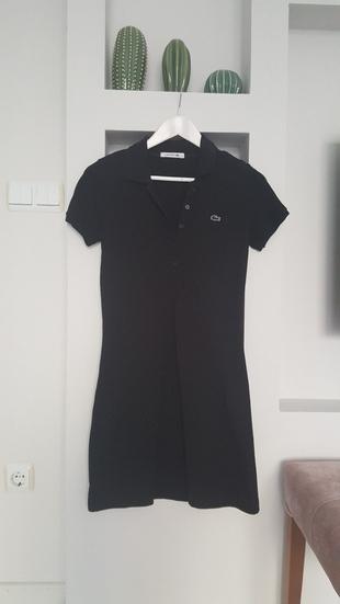 Lasoste elbise siyah