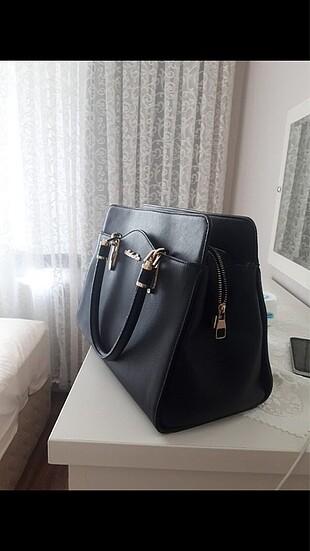 Matthew cox Siyah kol çantası