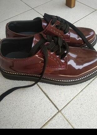 Bambi bordo rugan ayakkabı