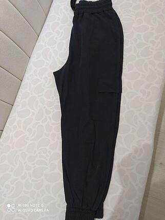 Kargo pantolonu tipli şalvar pantolon
