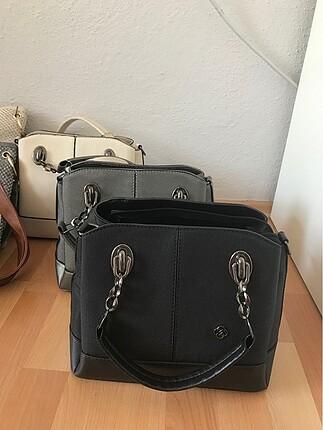 A kalite lüks kol çantası (gri tükendi)