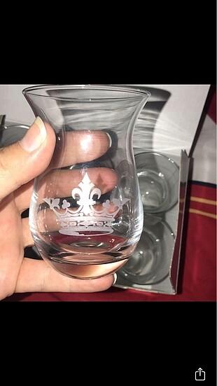 Madame Coco Royal 6'lı Kutulu Çay Bardağı