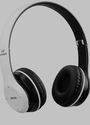 P47 Beyaz Extra Bass Wireless Bluetooth Kulaklık