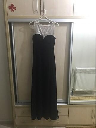Forever New siyah abiye elbise