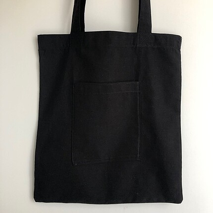 American Vintage Siyah Cepli Bez Çanta