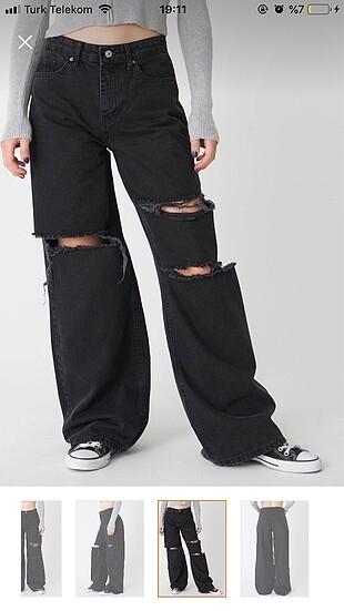 40 Beden wide leg jean