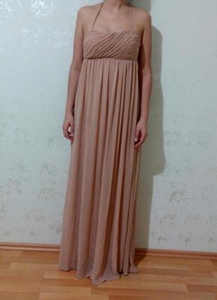 707d19e11605a Gardrops · Kadın · abiye · uzun abiye · Koton. pudra pembe tül elbise